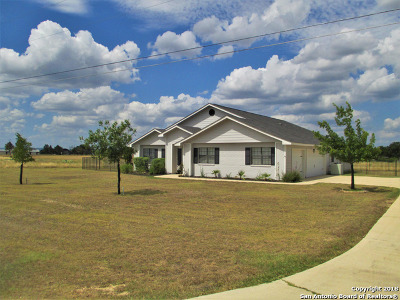 Bandera Single Family Home Price Change: 903 Flying L Drive