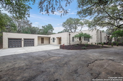 San Antonio Single Family Home Back on Market: 16402 Hidden View St