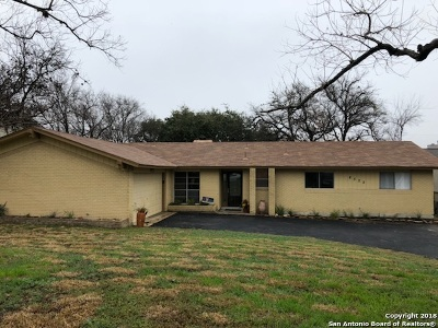 San Antonio Single Family Home Back on Market: 8522 Norwich Dr
