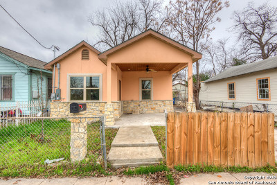 Bexar County Single Family Home New: 625 Delgado St
