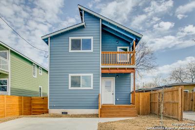 San Antonio Single Family Home New: 2030 Buffalo St