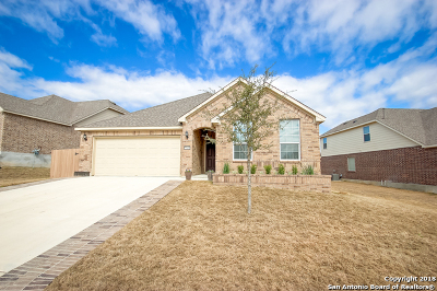 Boerne Single Family Home New: 27411 Valle Bluff