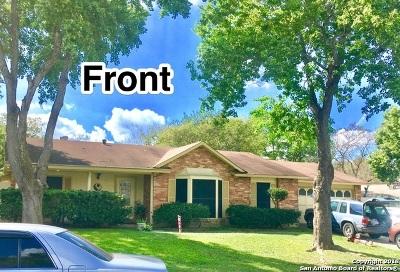 San Antonio Multi Family Home New: 13339 El Charro St