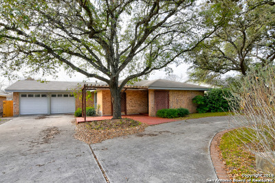 San Antonio Single Family Home New: 14007 Parksite Woods