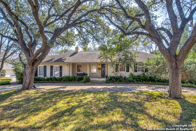 San Antonio Single Family Home New: 125 Newbury Terrace