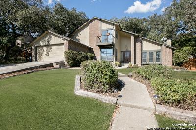 Helotes Single Family Home New: 11211 Lago Vista