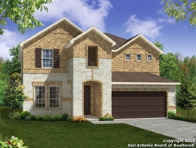 Bexar County Single Family Home New: 7515 Cove Way