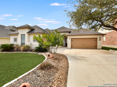 San Antonio Single Family Home New: 25015 White Creek