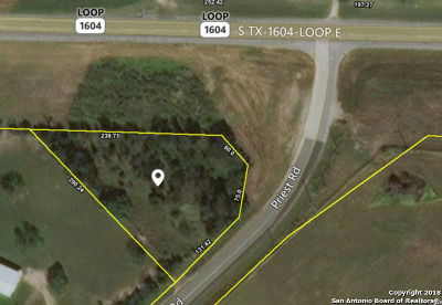 Commercial Lots & Land For Sale: 5764 Tx-1604 Loop