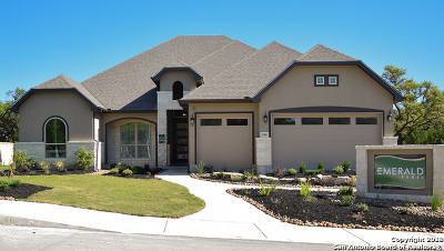 Boerne Single Family Home New: 26903 Sage Creek