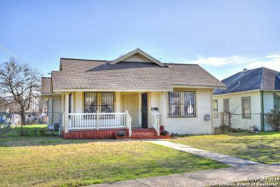 San Antonio Single Family Home New: 204 Wharton St