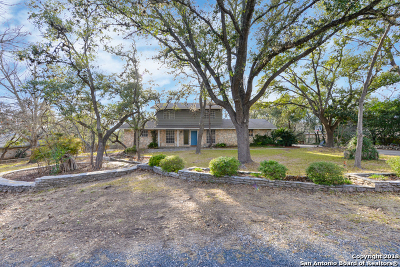 Helotes Single Family Home New: 13807 Circle A Trail