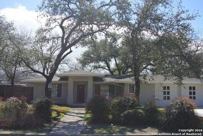 San Antonio Single Family Home Active RFR: 310 Northridge Dr