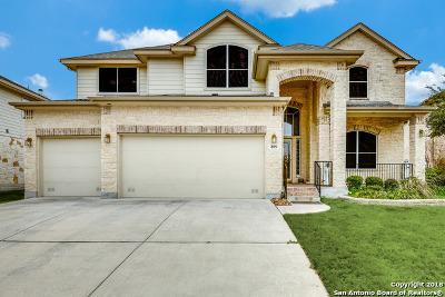 Cibolo Single Family Home New: 809 Armour Dr