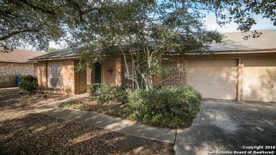 San Antonio Single Family Home New: 13831 Briarmeadow St