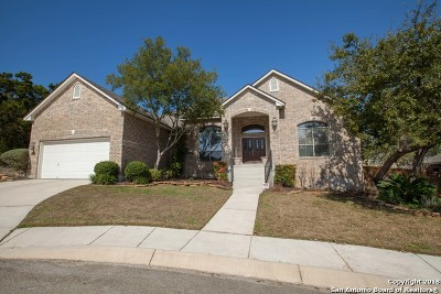 San Antonio Single Family Home New: 18118 Veranda Ln