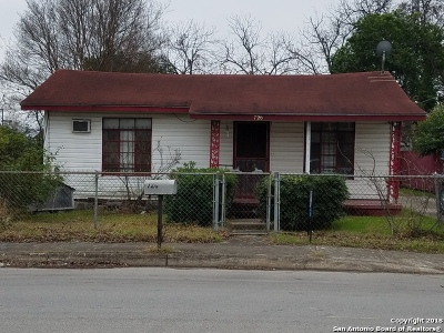 Single Family Home For Sale: 726 Stonewall St