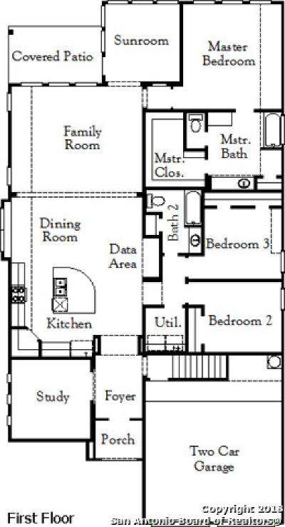 Cibolo Single Family Home New: 949 Foxbrook Way