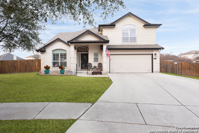 Converse Single Family Home New: 8726 Discovery Way