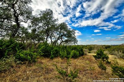 Comal County Residential Lots & Land New: 2167 Senora Ridge