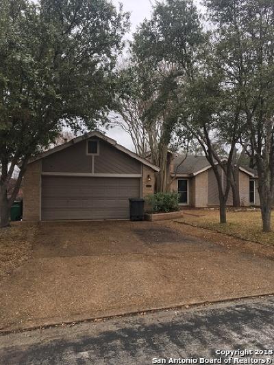 San Antonio Single Family Home Back on Market: 8423 Timber Loche