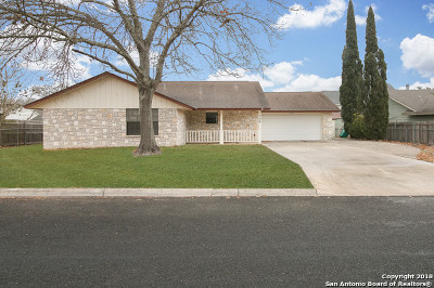 Boerne Single Family Home New: 106 Lehmann St