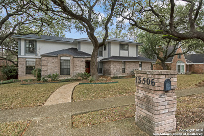 San Antonio Single Family Home New: 13506 Vista Bonita