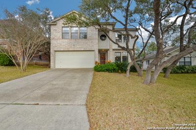 San Antonio Single Family Home New: 22022 Legend Point Dr