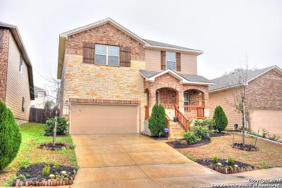 San Antonio Single Family Home New: 6630 Buckhorn Clf