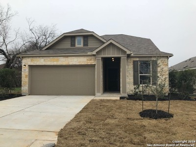 Converse Single Family Home New: 8810 Hays Parc Rd