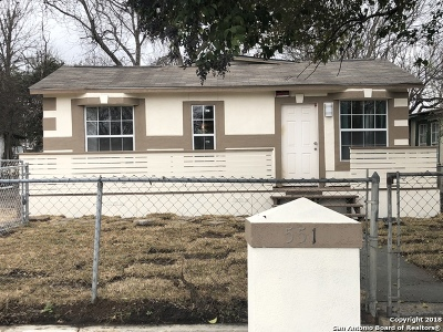 San Antonio Single Family Home New: 551 San Felipe Ave