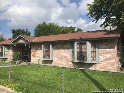Jbsa Ft Sam Houston Single Family Home Back on Market: 611 San Patricio St
