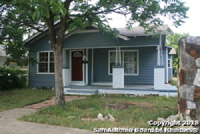 San Antonio Single Family Home New: 3307 W Houston St