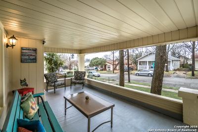 San Antonio Single Family Home New: 817 W Agarita Ave
