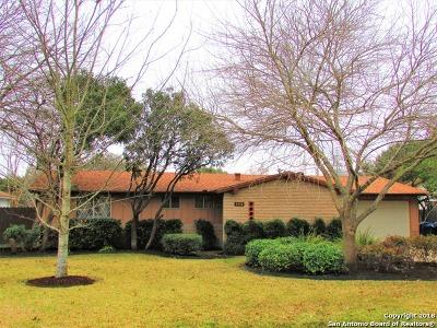 San Antonio Single Family Home New: 3406 Fallen Leaf Ln
