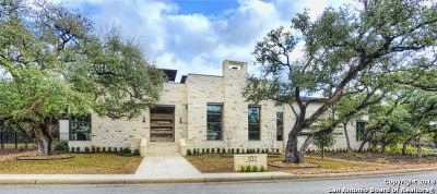 San Antonio Single Family Home Price Change: 102 Regents Park