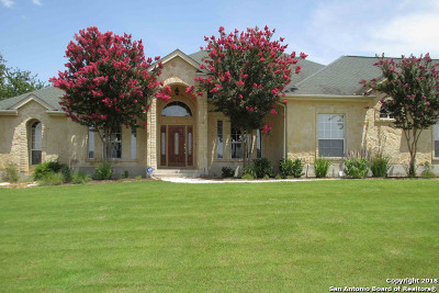 Boerne Single Family Home New: 105 Kendall Woods Dr