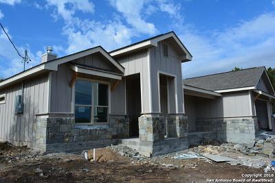 Canyon Lake Single Family Home New: 659 Monarch