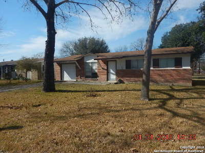 Bexar County, Comal County, Guadalupe County Single Family Home New: 501 W Aviation Boulevard