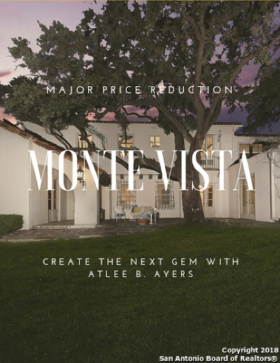 Monte Vista Single Family Home New: 207 S Laurel Heights