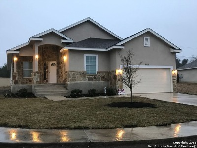 Converse Single Family Home New: 8305 Comanche Pass