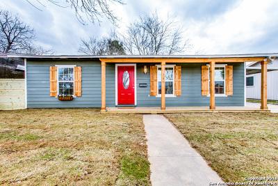 San Antonio Single Family Home Back on Market: 246 E Hutchins Pl
