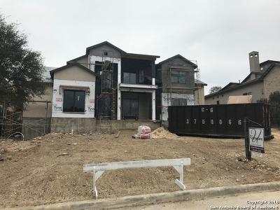 San Antonio Single Family Home New: 7106 Cresta Bulivar