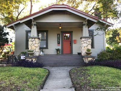 San Antonio Single Family Home New: 427 Wickes St