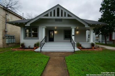 San Antonio Single Family Home New: 325 W Mistletoe Ave