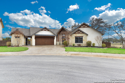 Single Family Home New: 1227 Gruene Valley Circle