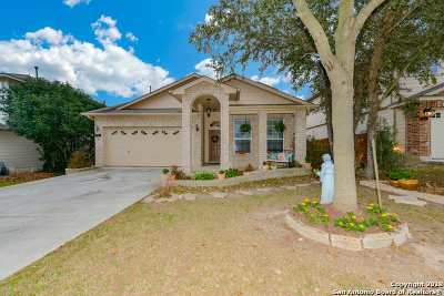 Bexar County Single Family Home Price Change: 162 Coopers Hawk