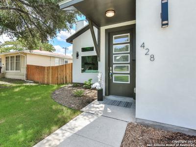 Terrell Hills Single Family Home New: 428 Rittiman Rd