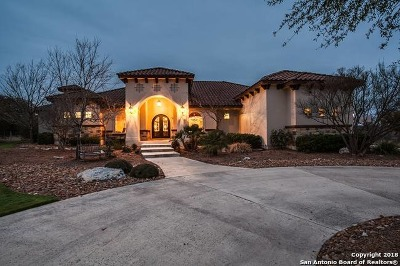 Boerne Single Family Home New: 106 Santa Fe Trail