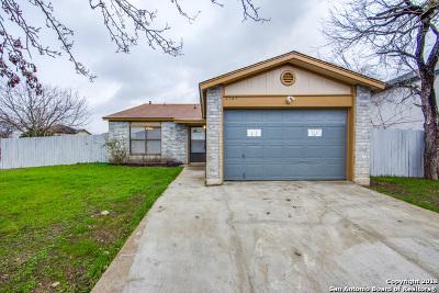 San Antonio Single Family Home New: 2167 Mossy Creek Dr